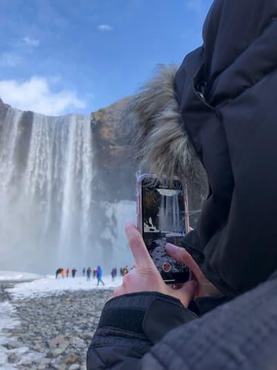Arie Luyendyk Jr. and Lauren Burnham, Iceland Trip