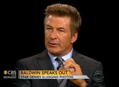 Alec Baldwin on CBS This Morning