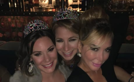 Luann de Lesseps, Jill Zarin and Marysol Patton in Miami