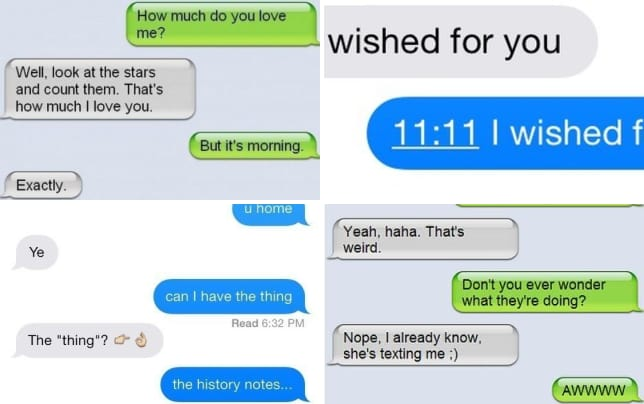 21 rejected text flirting attempts its morning