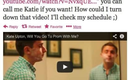 Kate Upton: Going to the Prom With High School Senior!