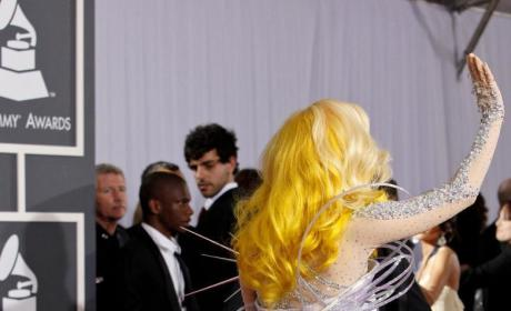 Gaga at the Grammys