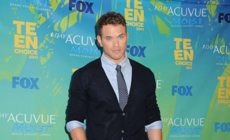 Kellan Lutz at the TCAs