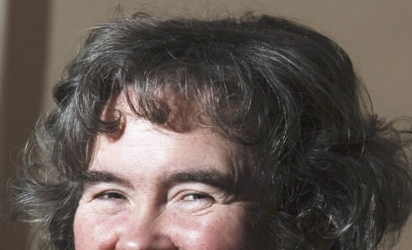 Susan Boyle at Home