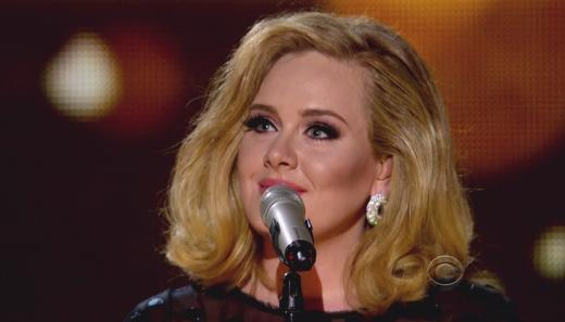 Adele at the Mic