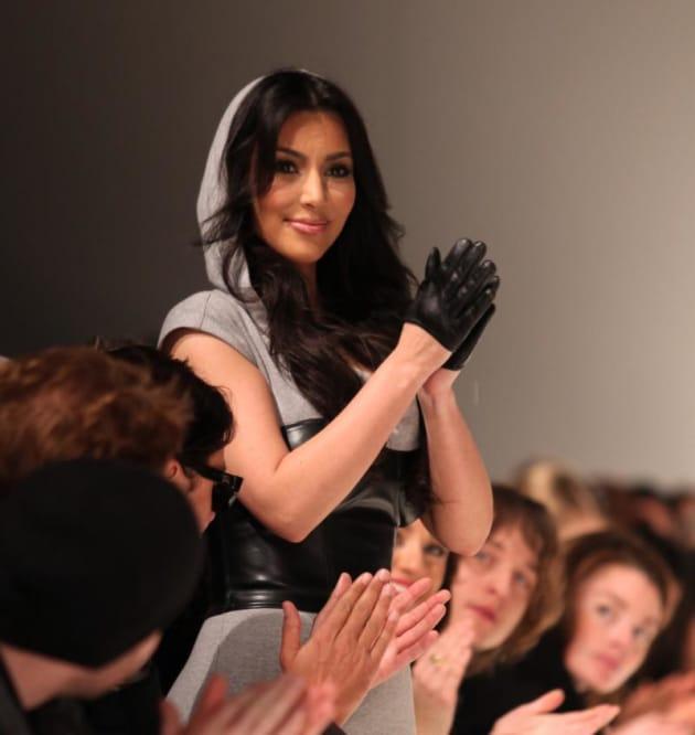 Kim on the Katwalk