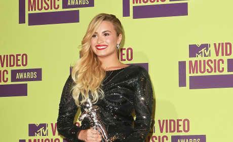 Demi Lovato at the VMAs