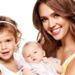 Jessica Alba and Daughters