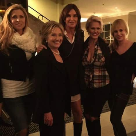 Caitlyn Jenner and Hillary Clinton