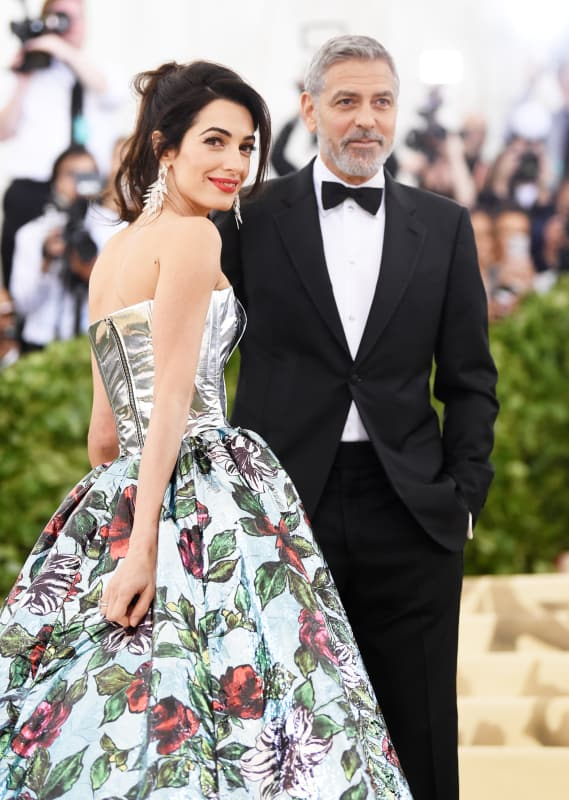 The clooney at the gala