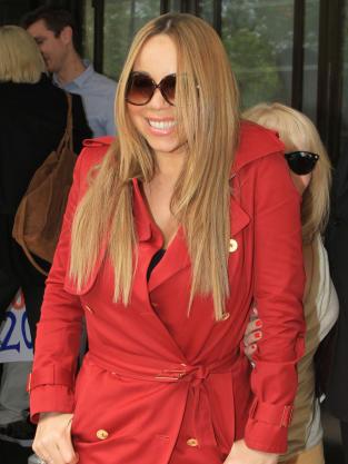Mariah Carey in England