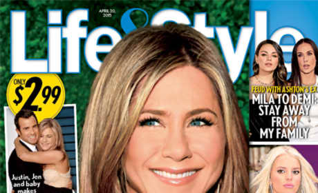 Jennifer Aniston Pregnant Cover Claim