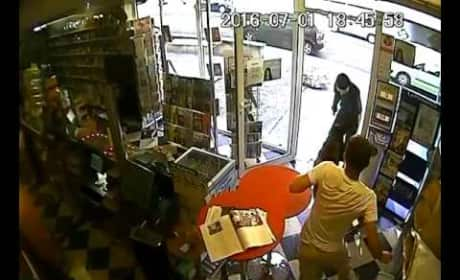 Heroic Dog Saves Store Owner, Scares Crap Out of Robber