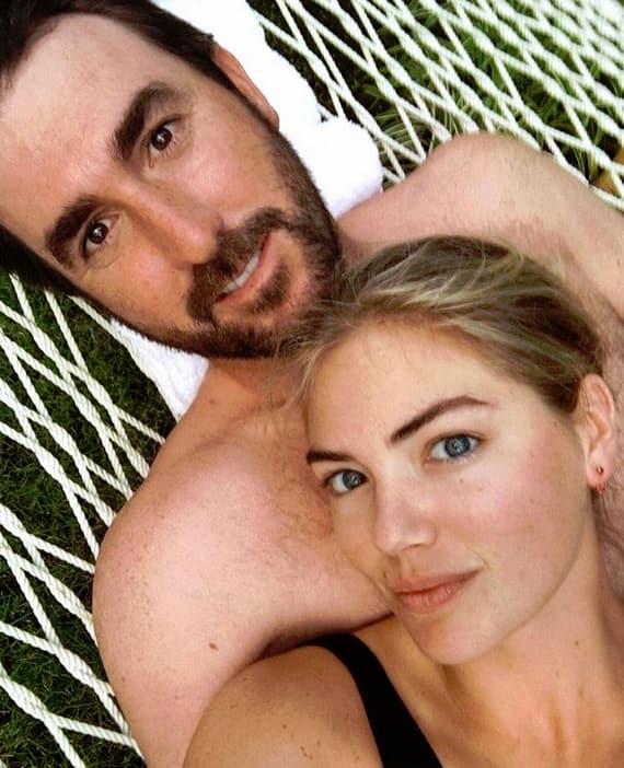 Kate Upton and Justin Verlander, Hammock