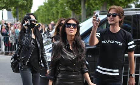 Parisian Kim Kardashian