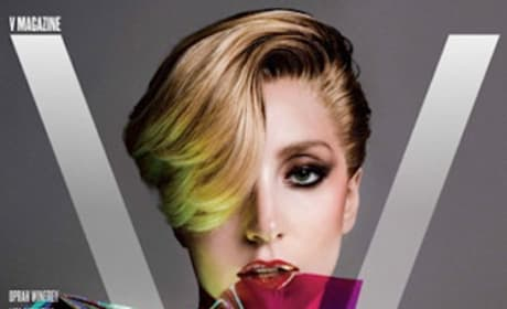 Lady Gaga V Mag Cover