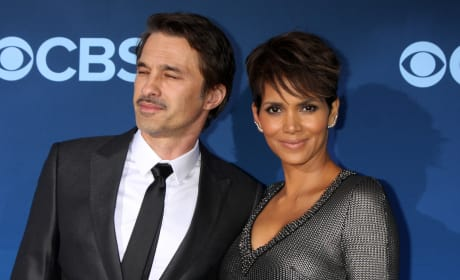 Halle Berry with Olivier Martinez