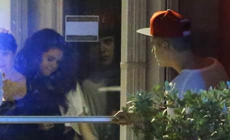 Selena Gomez-Justin Bieber Rendezvous