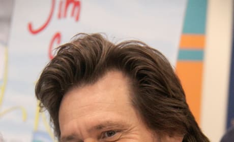 Jim Carrey Close Up