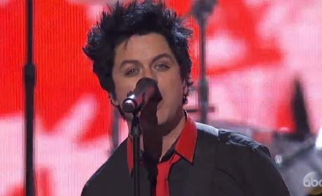 Green Day Goes OFF During Performance of Anti-Trump Anthem, Bang Bang, at AMAs!