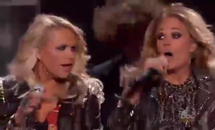 "Miranda Lambert, Carrie Underwood Bring ""Something Bad"" to Billboard Music Awards"