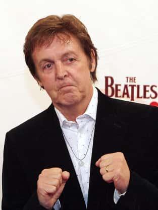 Paul McCartney Fight