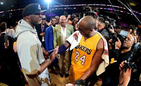 Lamar Odom and Kobe Bryant Photo