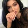 Kylie jenner on her side