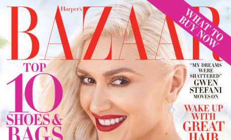 Gwen Stefani Harper's Bazaar August 2016