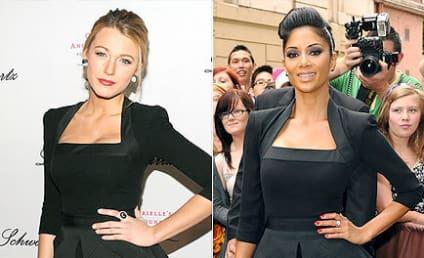 Fashion Face-Off: Blake Lively vs. Nicole Scherzinger