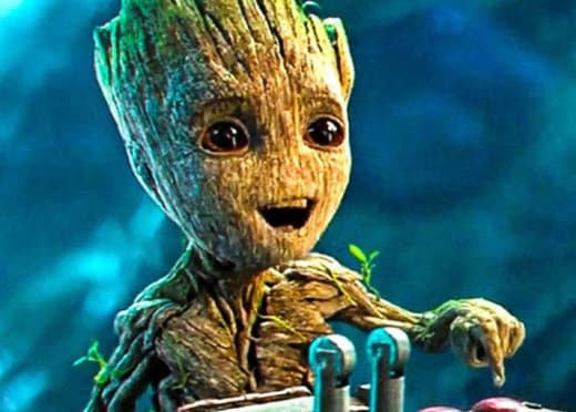 It's Groot!