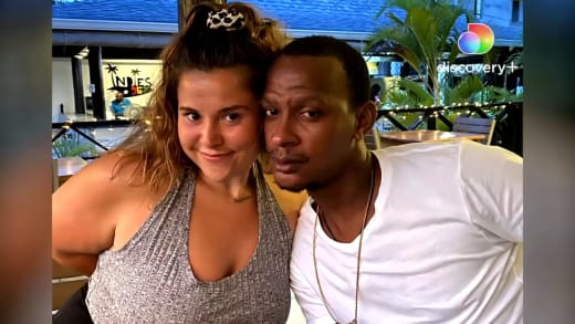 Aryanna and Sherlon on Love In Paradise: Caribbean