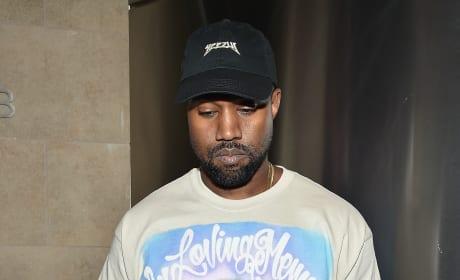Kanye West in Donda shirt