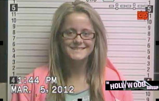 Jenelle Evans Mug Shot (March 2012)