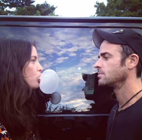 Justin Theroux and Liv Tyler Photo