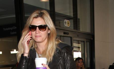 Erin Andrews Lands at LAX