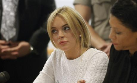 Is Lindsay Lohan a thief?