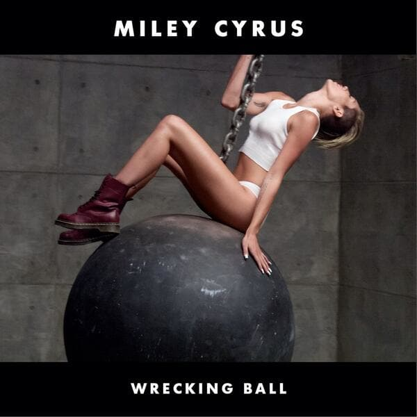 Miley Cyrus Wrecking Ball Photo