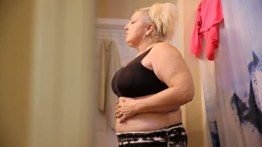 Angela Deem has lost 40 pounds so far