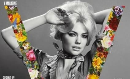 Kate Upton Covers V, Doesn't Want to Wear Clothes