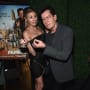 Charlotte McKinney and Charlie Sheen