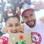 Miley Cyrus and Liam Hemsworth on Christmas