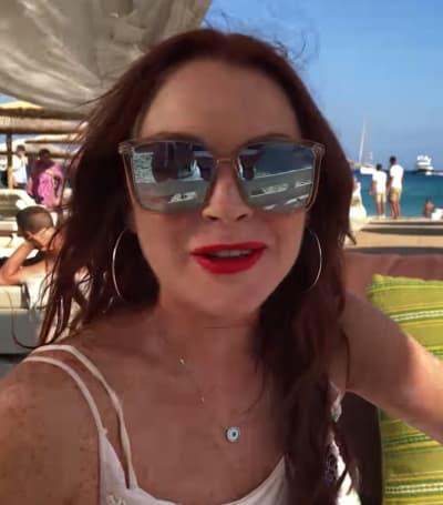 Lindsay Lohan Teaser