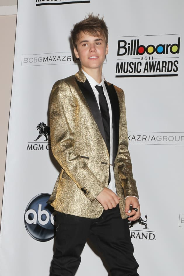 Justin in Gold