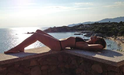 Heidi Klum Bikini Photo: Tweeted, Artistic