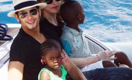 Madonna and Kids are on a Boat