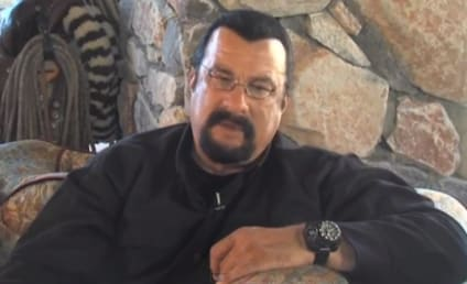 Steven Seagal Ponders Run for Governor, Closing of Borders