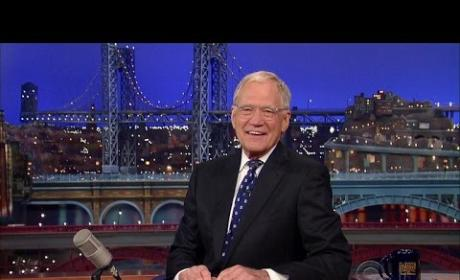 David Letterman Says Thank You