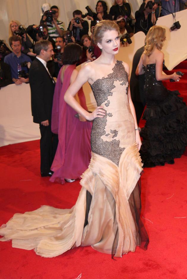 Taylor Swift MET Costume Gala Dress