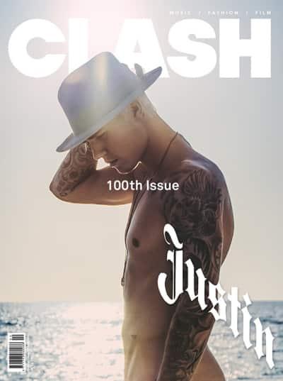 Justin Bieber Naked Cover